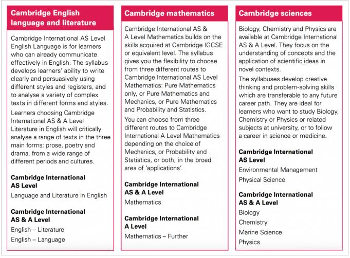 Cambridge Assessment International, IGCSE